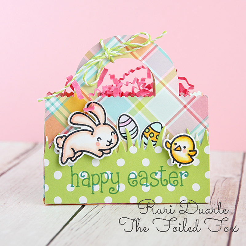 Mini Easter Basket by Ruri Duarte