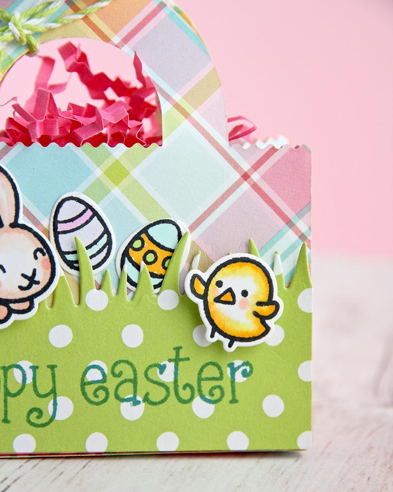 Mini Easter basket by Ruri Duarte