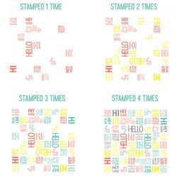 Concord & 9th Oh Hello Turnabout Stamp Set