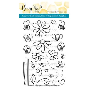 Honey Bee Stamps Busy Bees Stamp Set