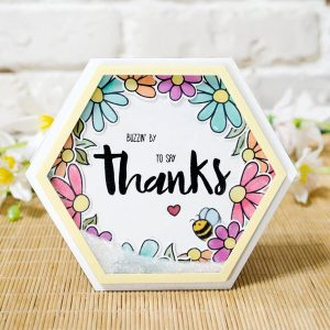 Honey Bee Stamps Busy Bees Stamp Set class=