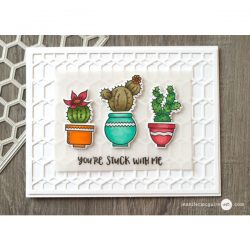 Honey Bee Stick With Me Stamp Set