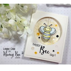 Honey Bee Bee-You-Tiful Sentiment Stamp Set