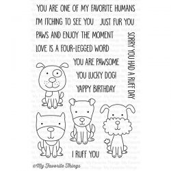 My Favorite Things Four-Legged Friends Stamp Set