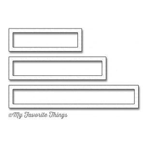 My Favorite Things Die-namics Rectangle Word Window Frames