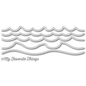 My Favorite Things Die-Namics Ocean Waves