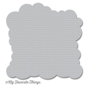 My Favorite Things Cloud Stencil