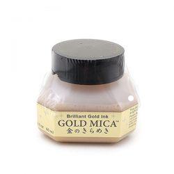 Kuretake Zig Gold Calligraphy Ink - 60 ml Bottle