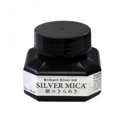 Kuretake Zig Silver Calligraphy Ink - 60 ml Bottle