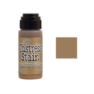 Tim Holtz Distress Stain - Tarnished Brass class=