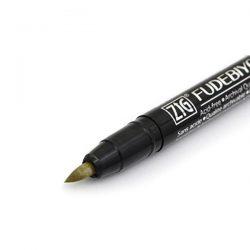 Kuretake Zig Fudebiyori Metallice Brush Pens, Set of 8