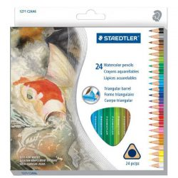 Staedtler Triangular Watercolor Pencil Set of 24