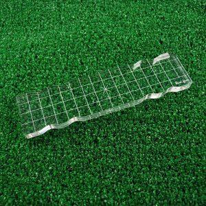 "Lawn Fawn Acrylic Stamping Block - 2"" x 8"" class="