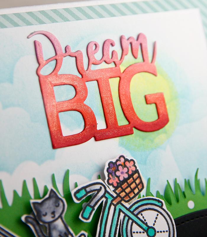 Dream Big card 1