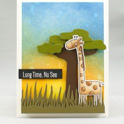 My Favorite Things Giraffing Me Crazy Stamp Set