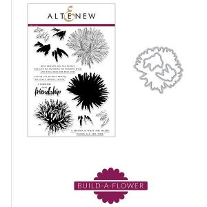 Altenew Build-A-Flower: Aster Stamp and Die Set