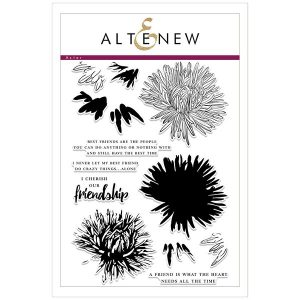 Altenew Build-A-Flower: Aster Stamp and Die Set class=