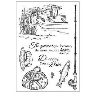Inky Antics Fishing Favorites Stamp Set
