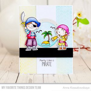 My Favorite Things Party Like a Pirate Stamp Set class=