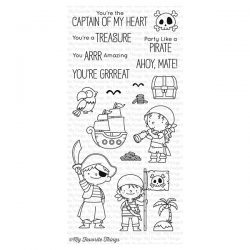 My Favorite Things Party Like a Pirate Stamp Set