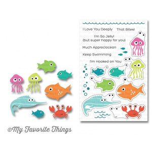 My Favorite Things Ocean Fun Stamp Set class=
