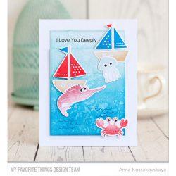 My Favorite Things Ocean Fun Stamp Set