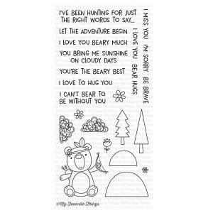 My Favorite Things Beary Big Adventure Stamp Set