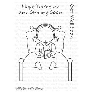 My Favorite Things Pure Innocence Bed Rest Stamp Set