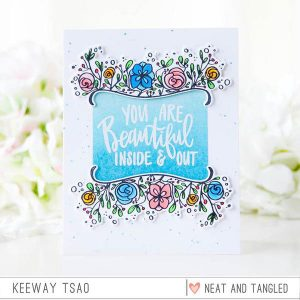Neat & Tangled Bloom Stamp Set class=