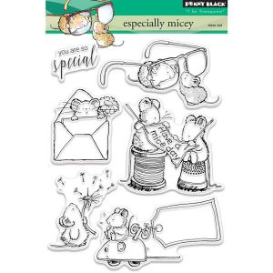 Penny Black Especially Micey Stamp Set