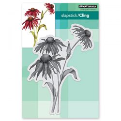 Penny Black Dancing Daisies Cling Stamp