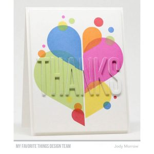 My Favorite Things Color Drops Stamp Set class=