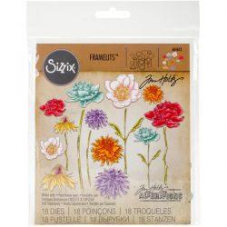 Sizzix Flower Garden and Mini Bouquet Framelits by Tim Holtz