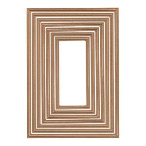 Spellbinders 5 X 7 Matting Basics A Card Creator Dies