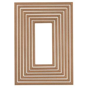 Spellbinders 5x7 Matting Basics B Card Creator Die Set class=