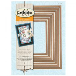 Spellbinders 5x7 Matting Basics B Card Creator Die Set