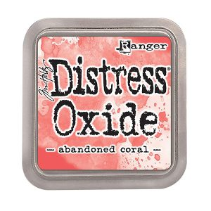 "<span style=""color:red;"">PRE-ORDER</span> Tim Holtz Distress Oxide Ink Pad – Abandoned Coral"