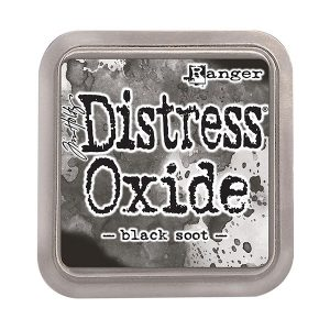 "<span style=""color:red;"">PRE-ORDER</span> Tim Holtz Distress Oxide Ink Pad – Black Soot"