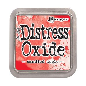 "<span style=""color:red;"">PRE-ORDER</span> Tim Holtz Distress Oxide Ink Pad – Candied Apple"