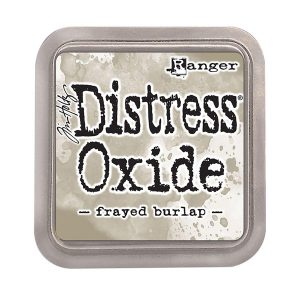 "<span style=""color:red;"">PRE-ORDER</span> Tim Holtz Distress Oxide Ink Pad – Frayed Burlap"