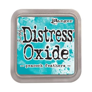 "<span style=""color:red;"">PRE-ORDER</span> Tim Holtz Distress Oxide Ink Pad – Peacock Feathers"