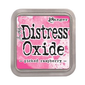 "<span style=""color:red;"">PRE-ORDER</span> Tim Holtz Distress Oxide Ink Pad – Picked Raspberry"