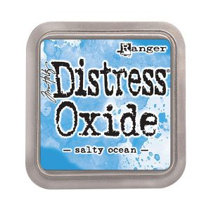 Tim Holtz Distress Oxide Ink Pad –  Salty Ocean class=