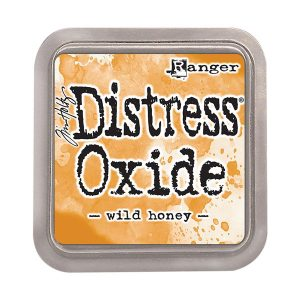 "<span style=""color:red;"">PREORDER</span> Tim Holtz Distress Oxide Ink Pad – Wild Honey"