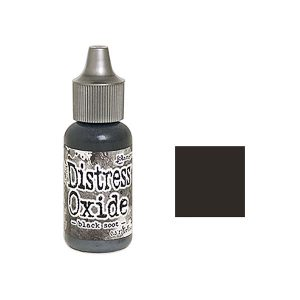Tim Holtz Distress Oxide Reinker – Black Soot