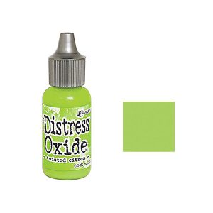 Tim Holtz Distress Oxide Reinker - Twisted Citron class=