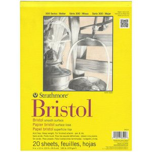 "Strathmore Bristol Smooth Paper Pad - 9""X12"""