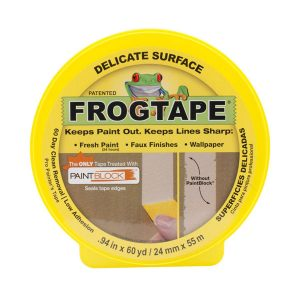 ShurTech Yellow Frog Delicate Multisurface Masking Tape class=