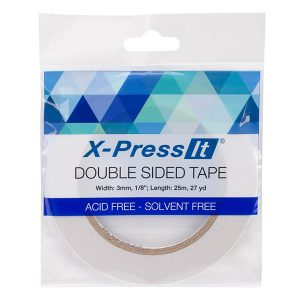 "X-Press It Double-Sided Tape - 1/8"" (3mm) class="