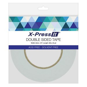 "X-Press It Double-Sided Tape - 1/4"" (6mm) class="